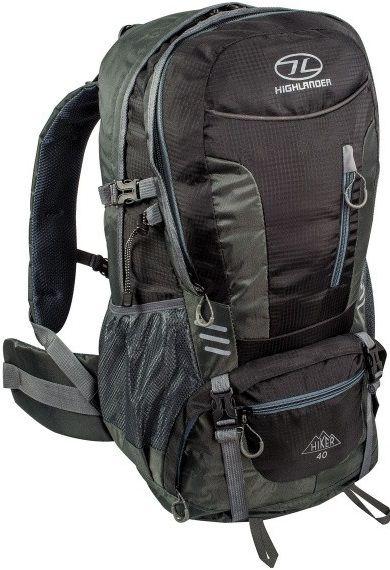 Купить Спортивные сумки, Рюкзак Highlander Hiker 40 (924250) Black