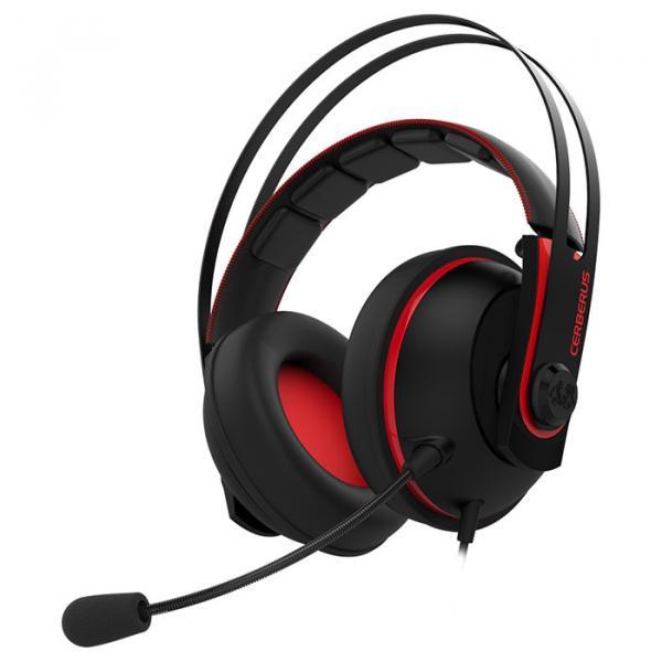 Купить Наушники и гарнитуры, Наушники Asus Cerberus V2 Black-Red (90YH015R-B1UA00)