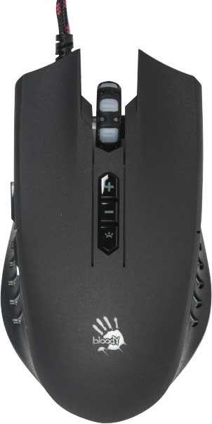 Мыши, Мышь A4Tech Q81 USB (4711421931267) Black  - купить со скидкой