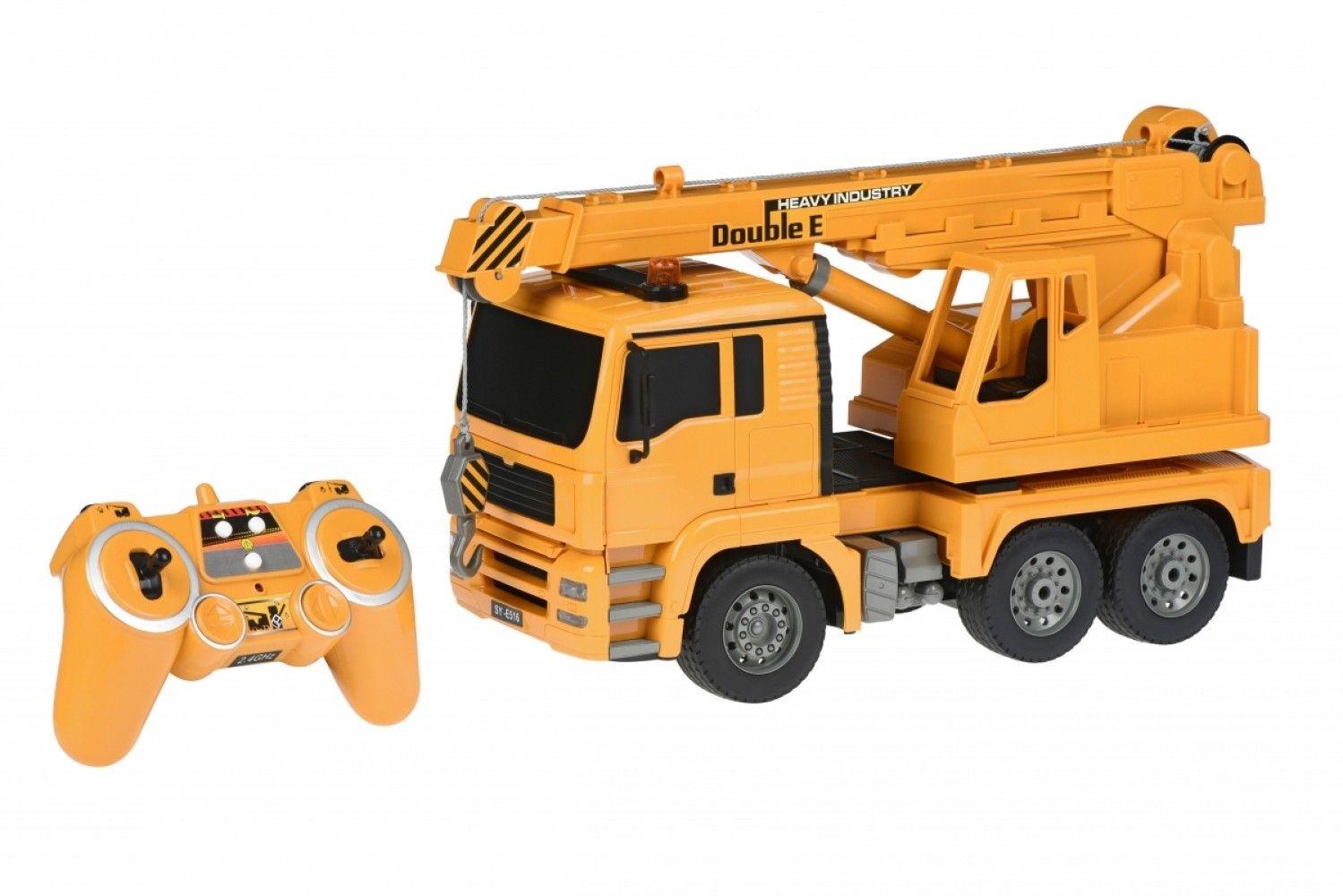 Купить Игрушечные машинки и техника, Машинка на р/у 3 в 1 Same Toy Подъемный кран (E516-003)