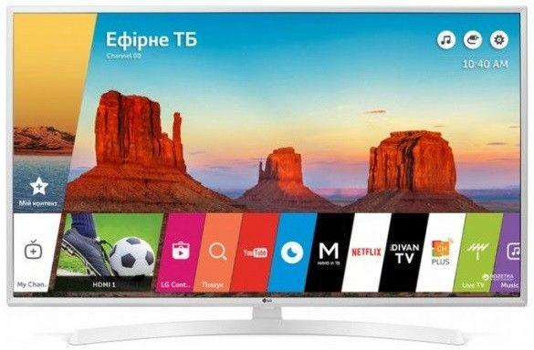 Купить Телевизор LG 43UK6390PLG