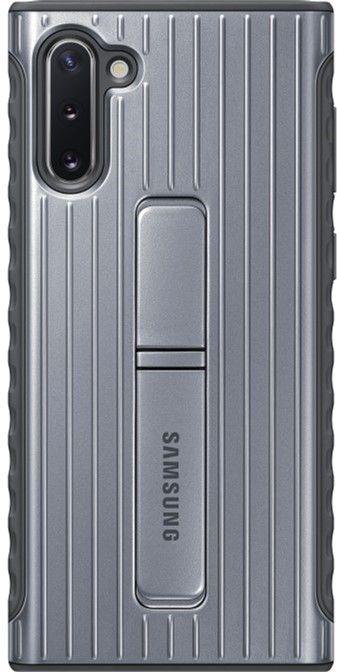 Чехол-накладка Samsung Protective Standing Cover для Samsung Galaxy Note 10 (EF-RN970CSEGRU) Silver от Територія твоєї техніки