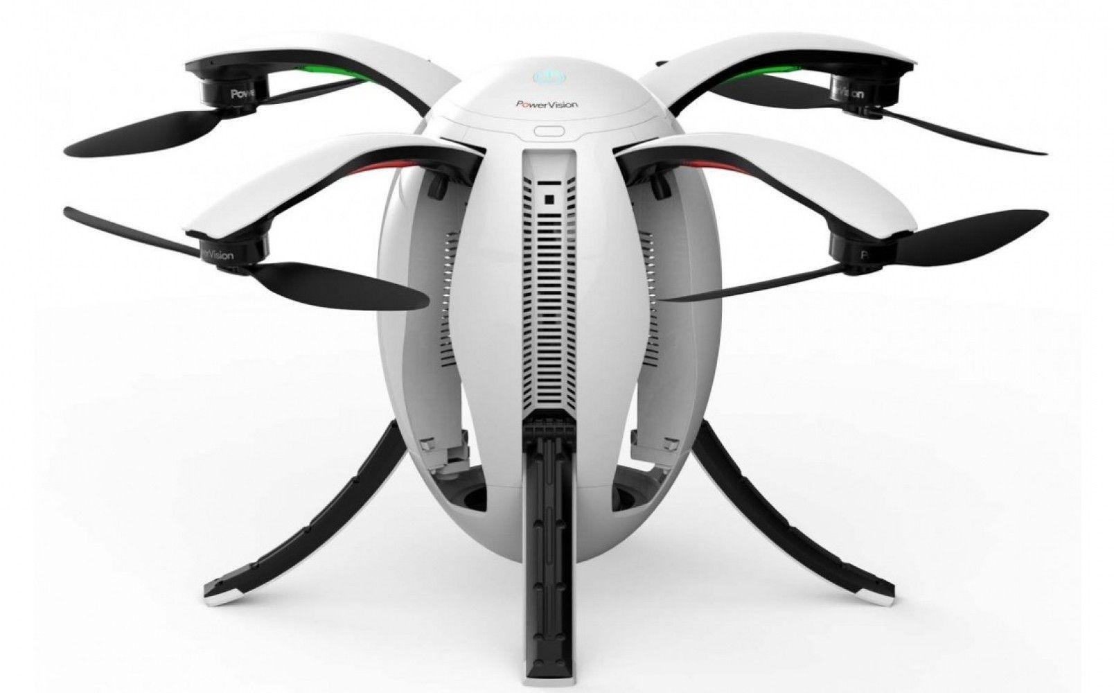 Купить Квадрокоптеры, Квадрокоптер PowerVision PowerEgg EU (10000022-00)
