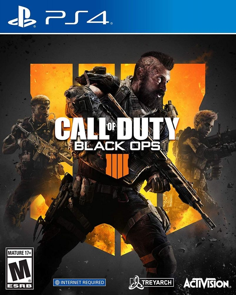 Купить Игры, Диск Call of Duty: Black Ops 4 (PS4, Russian version), Activision