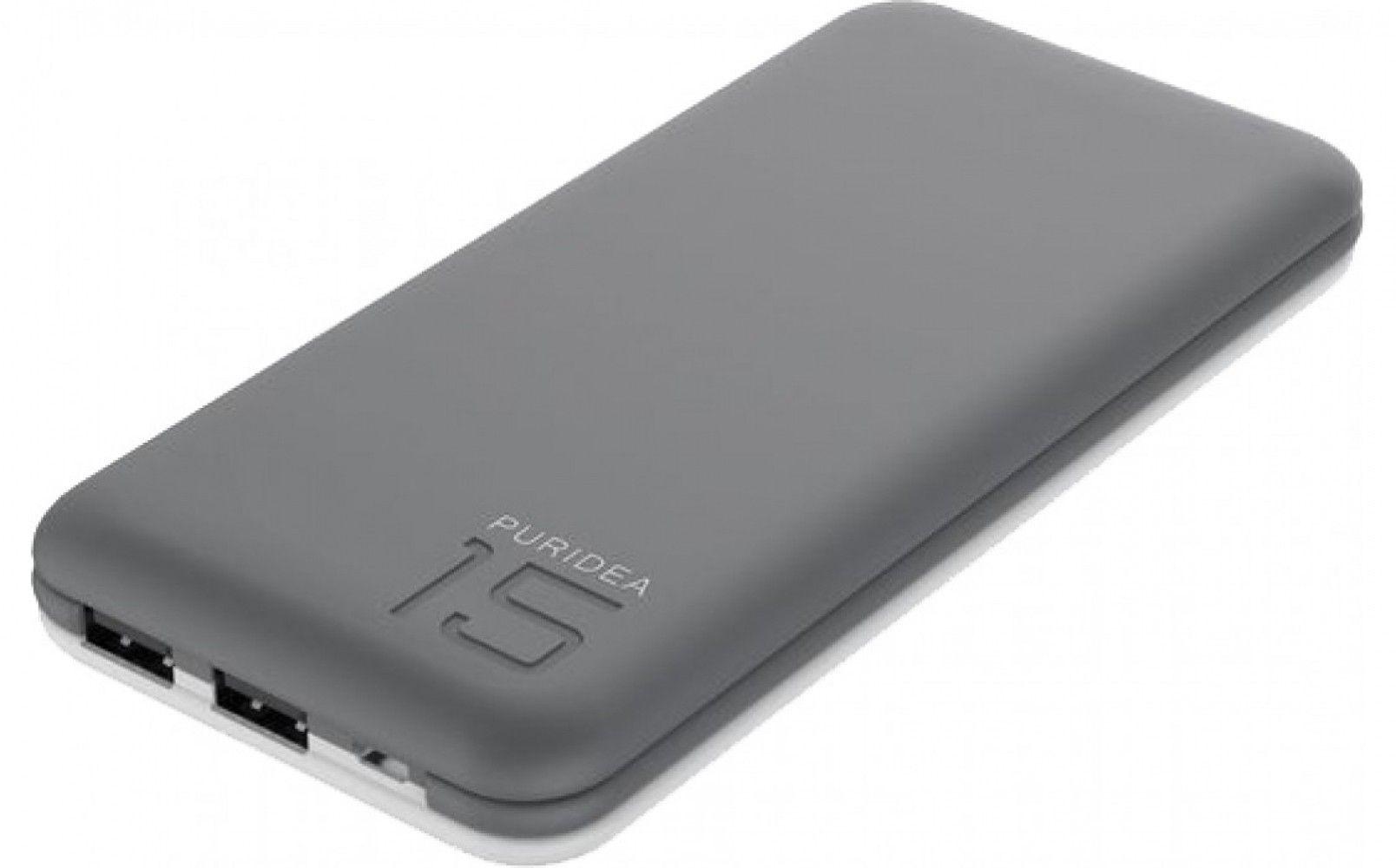 Купить Внешний аккумулятор Puridea S3 15000 mAh Grey/White (S3-Grey White)