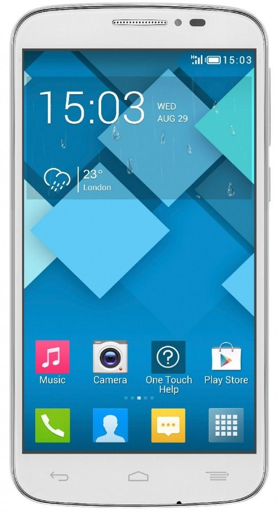 Мобильный телефон Alcatel One Touch 7041D POP C7 Dual Sim White - 26175