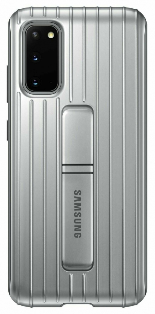 Накладка Samsung Protective Standing Cover для Samsung Galaxy S20 (EF-RG980CSEGRU) Silver от Територія твоєї техніки