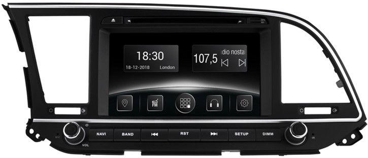 Автомагнитола штатная Gazer CM6008-UD для Hyundai Elantra (UD) 2016-2017
