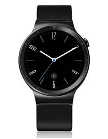 Смарт часы Huawei Watch Black Leather - 29549