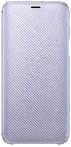Купить Чехлы для мобильных телефонов, Чехол-книжка Samsung Wallet Cover для Samsung Galaxy J6 2018 (EF-WJ600CEEGRU) Purple
