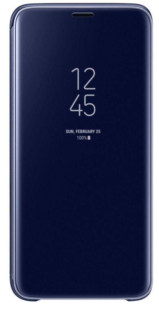 Чехол-Книжка Samsung Clear View Standing Cover S9 Blue (EF-ZG960CLEGRU) от Територія твоєї техніки