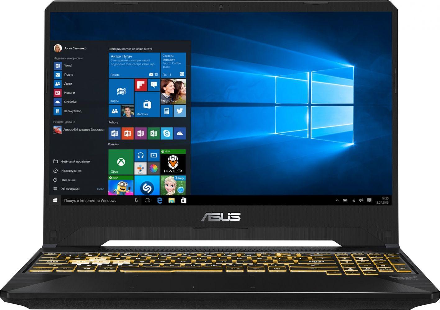 Купить Ноутбуки, Ноутбук ASUS TUF Gaming FX505GM-ES040T (90NR0131-M00910) Gun Metal