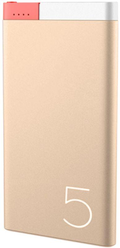 Купить Портативная батарея Rock Odin Power bank Aluminum 5000 mAh Gold