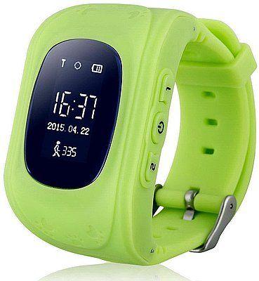 Купить Детские умные часы с GPS-трекером Smart Baby Watch GW300 (Q50) Green