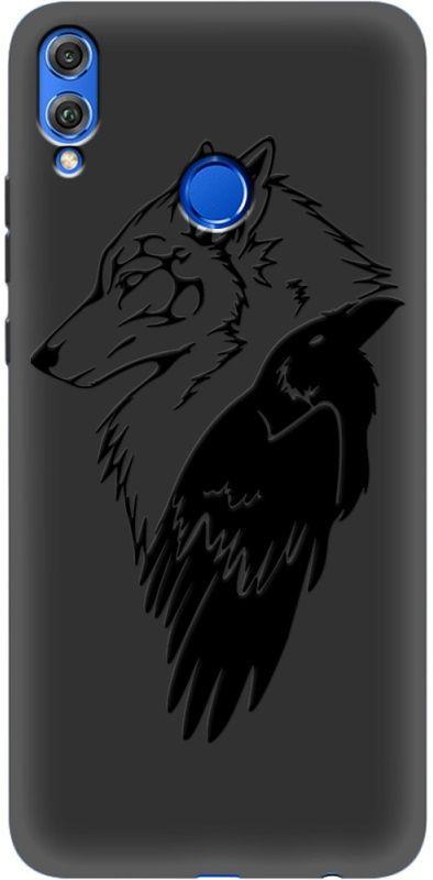 Купить Накладка U-Print Honor 8X Wolf and Raven, Other