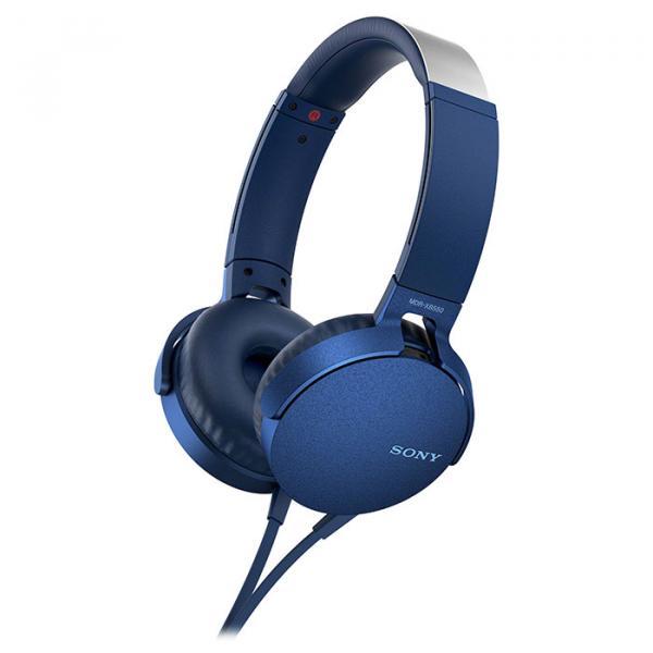Купить Наушники и гарнитуры, Наушники Sony MDR-XB550AP Blue (MDRXB550APL.E)
