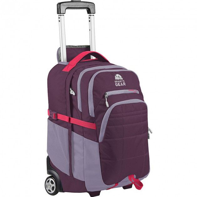 Купить Дорожные сумки и чемоданы, Сумка дорожная Granite Gear Trailster Wheeled 40 л (923170) Gooseberry/Lilac/Watermelon
