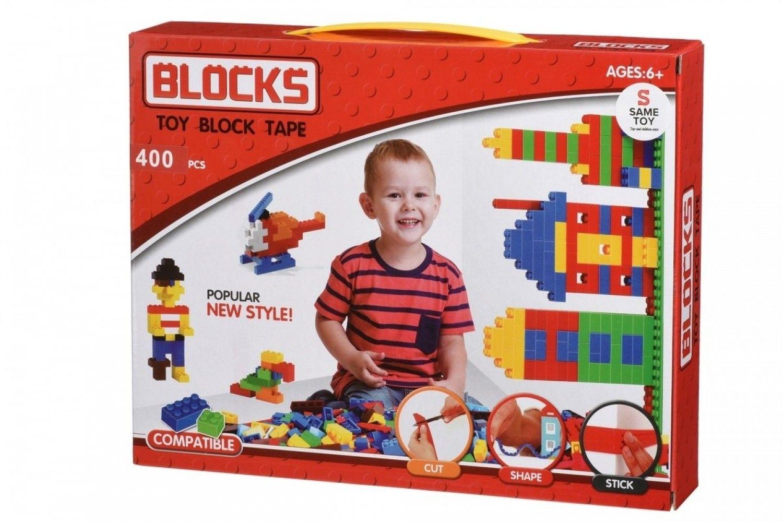 Купить Конструкторы, Конструктор Same Toy Block Tape 400 эл. (804Ut)