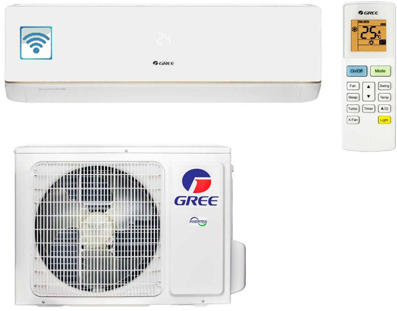 Купить Кондиционеры, Кондиционер GREE GWH24AAD-K3DNA5A (BORA INVERTER Wi-Fi)