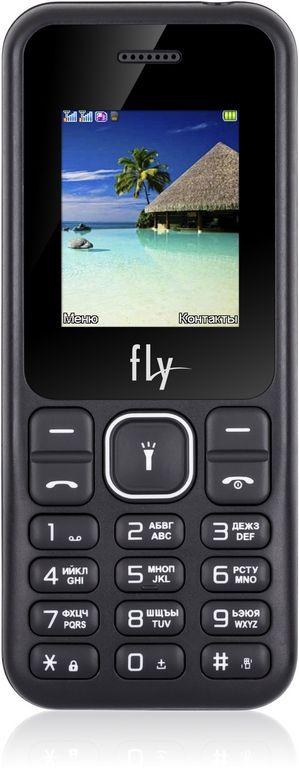 Купить Кнопочные телефоны, Мобильный телефон Fly FF190 Black