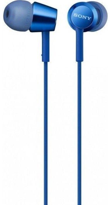 Купить Наушники и гарнитуры, Наушники Sony MDR-EX155AP Blue