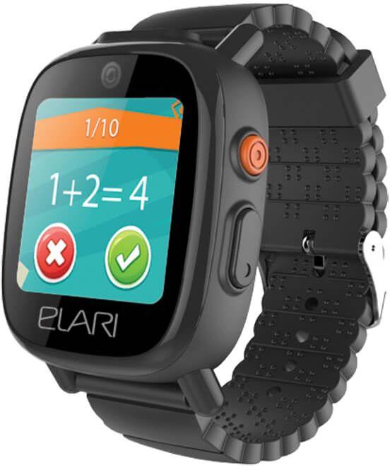 Купить Смарт часы, Детский телефон-часы с GPS трекером FIXITIME 3 (ELFIT3BLK) Black