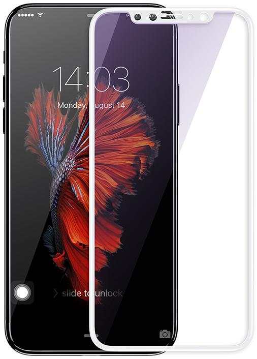 Купить Защитное стекло Mocolo Full Cover iPhone X Silk White