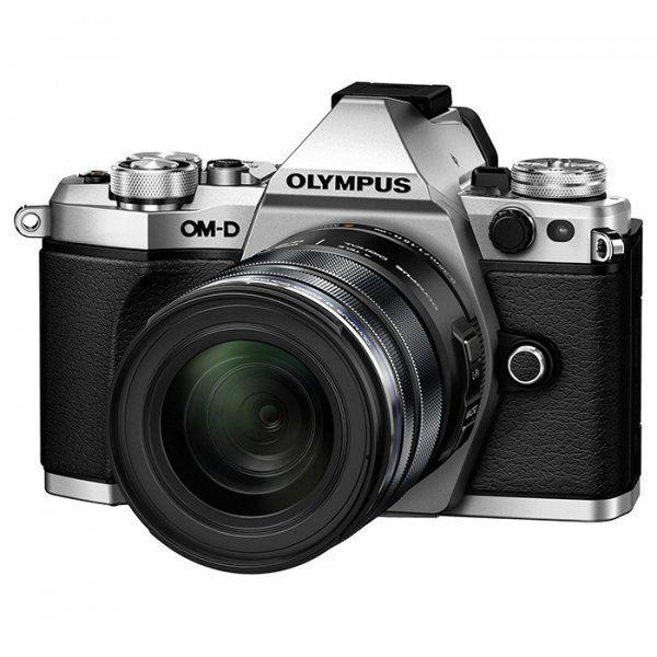 Купить Фотоаппарат Olympus E-M5 Mark II 12-50 Kit Silver-Black (V207042SE000)