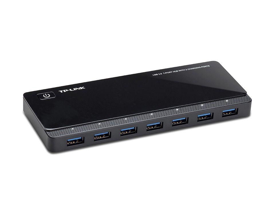 Купить Разное, USB 3.0 концентратор TP-LINK UH720 с 2-мя заряжающими портами