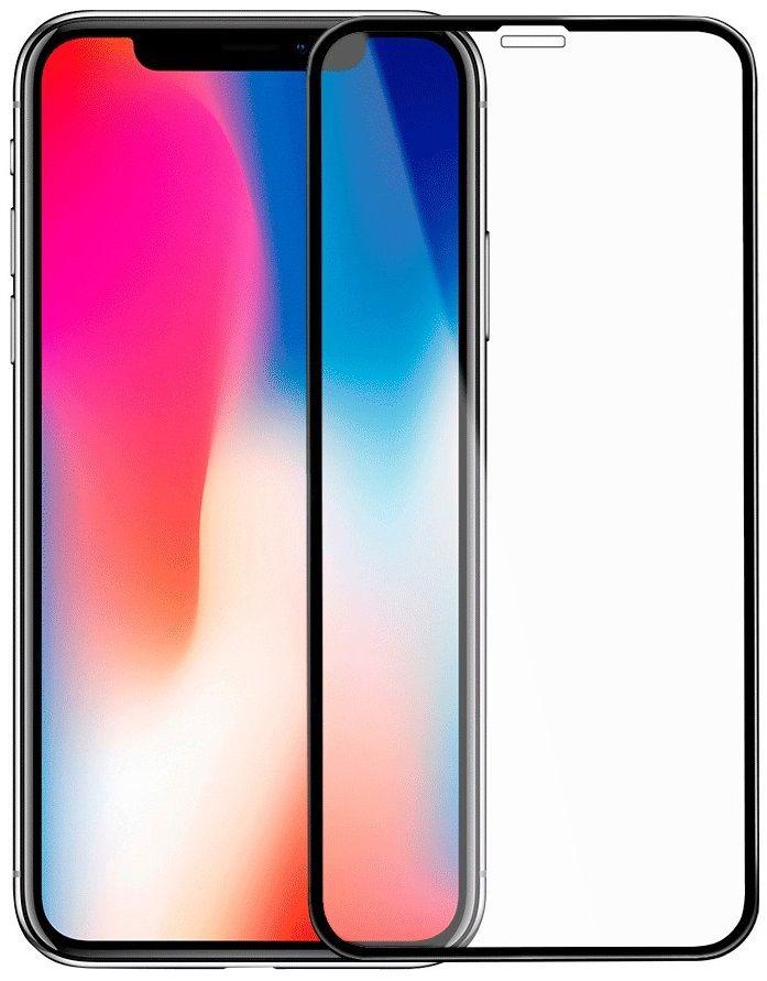 Купить Защитные стекла, Защитное стекло Gelius Pro 5D Anti-Blue Glass iPhone X/XS Black