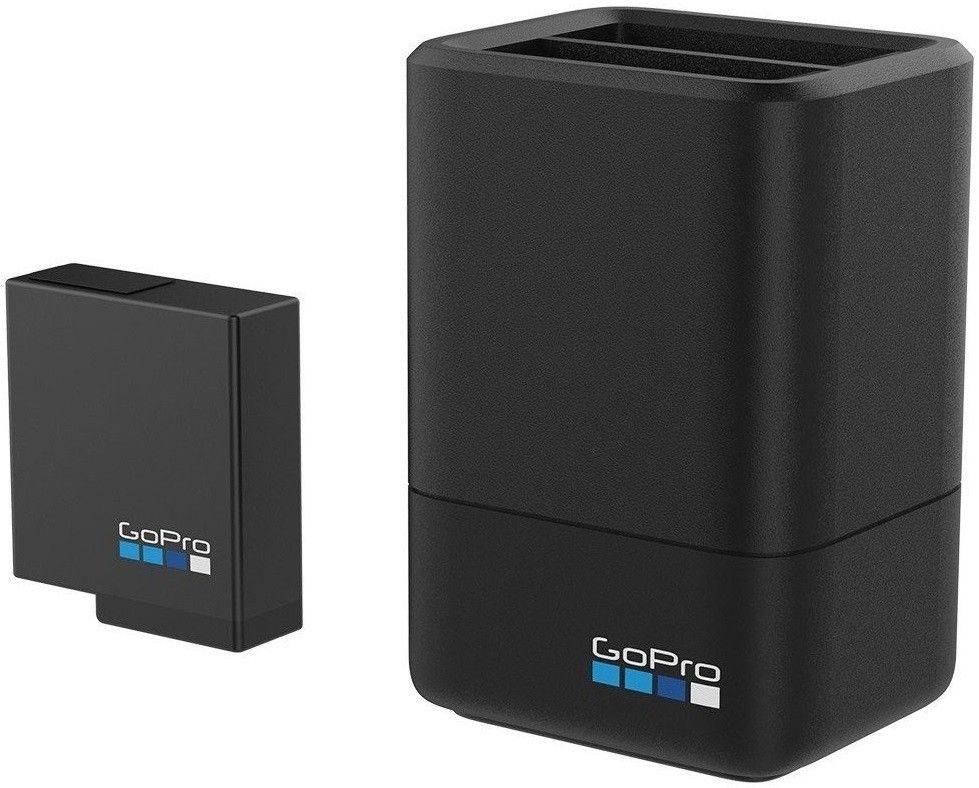 Купить Зарядное устройство GoPro Dual Battery Charger + Battery (HERO5 Black) (AADBD-001-RU)