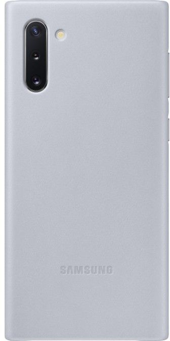 Чехол Samsung Leather Cover для Samsung Galaxy Note 10 (EF-VN970LJEGRU) Gray от Територія твоєї техніки