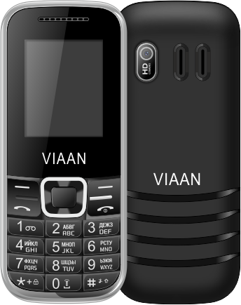 Купить Мобильный телефон VIAAN V182a Black