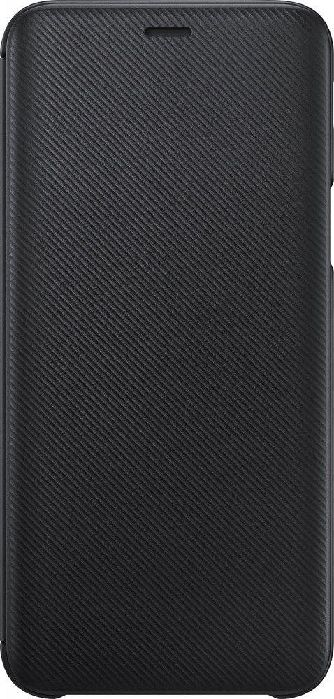 Купить Чехлы для мобильных телефонов, Чехол-книжка Samsung Wallet Cover для Samsung Galaxy J6 2018 (EF-WJ600CBEGRU) Black