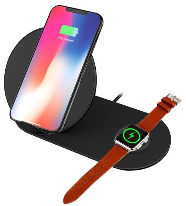 Зарядные устройства, Беспроводное зарядное устройство BeCover BC-N26 (704092) Black  - купить со скидкой