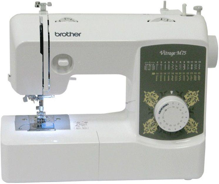 Купить Швейные машинки, Швейная машина BROTHER Vitrage M75