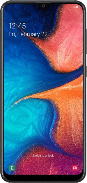 Купить Смартфоны, Смартфон Samsung Galaxy A20 3/32GB (SM-A205FZKVSEK) Black