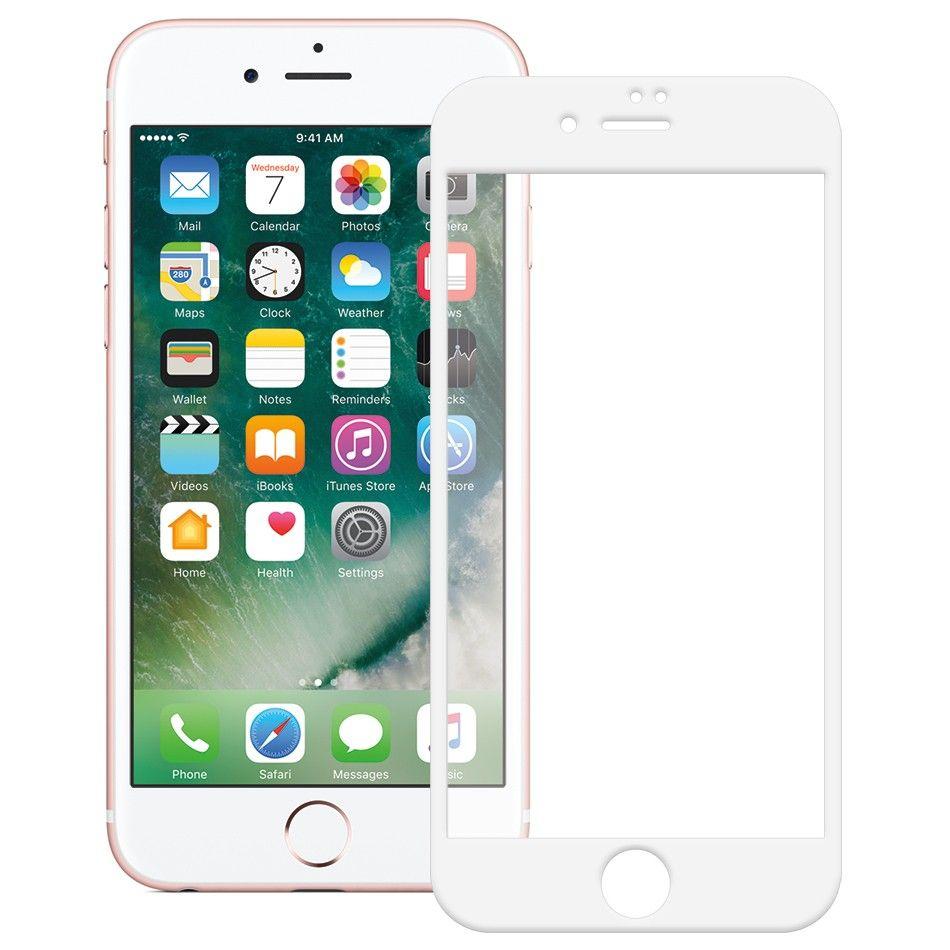 Купить Защитное стекло Mocolo Full Cover iPhone 8 Silk White