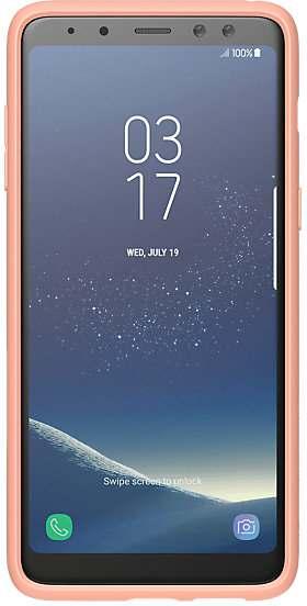 Купить Чехлы для мобильных телефонов, Панель Samsung Silicon cover A8 2018 GP-A530KDCPBAC Flamingo