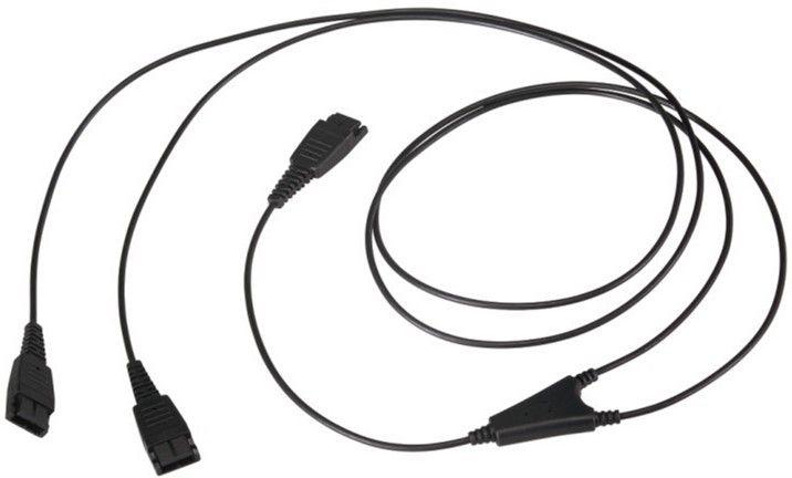 Аксессуары для наушников, Сплиттер для наушников Mairdi MRD-QD006 (151136) Black  - купить со скидкой