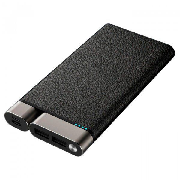 Купить УМБ Puridea X01 10000 mAh (X01-Black) Leather Black