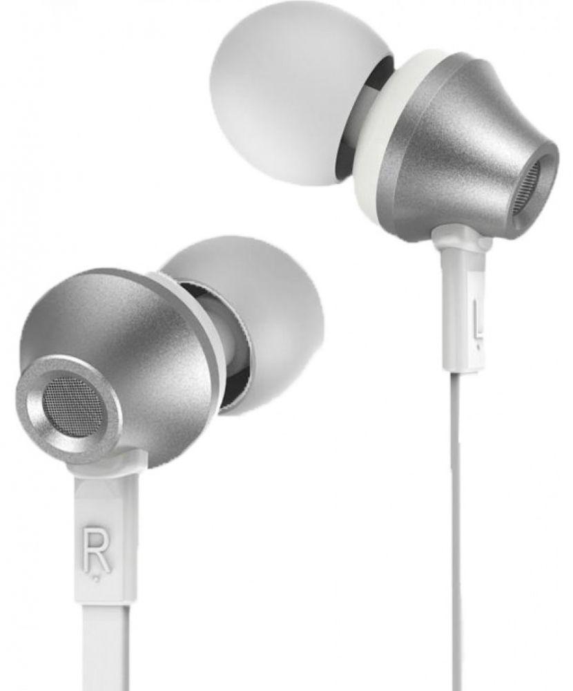Купить Наушники и гарнитуры, Наушники Remax RM-610D Earphone Silver