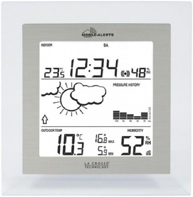 Купить Метеостанции, Метеостанция La Crosse MA10009TRA-ALU + мобильный шлюз