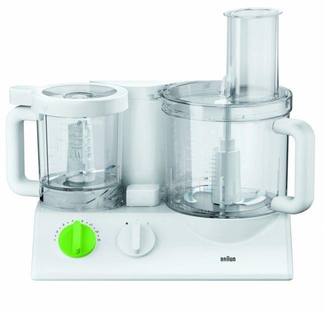 Купить Кухонные комбайны, Кухонный комбайн BRAUN FX 3030 White