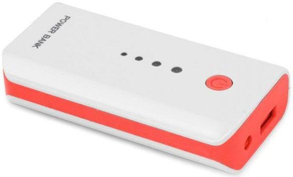 Купить Внешний аккумулятор Esperanza 5200 mAh (EMP104WR) White/Red