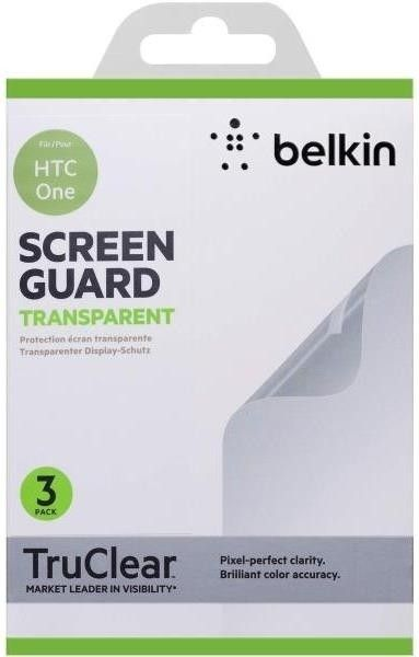 Защитная пленка Belkin HTC One Screen Overlay CLEAR 3in1 (F8M578vf3) - 21504