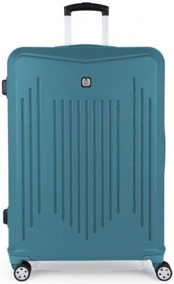Купить Дорожные сумки и чемоданы, Чемодан на колесах Gabol Clever (L) 100 л (927005) Turquoise