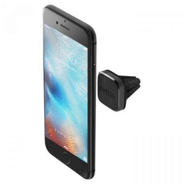 Купить Держатели, Автодержатель iOttie iTap Mini Magnetic Vent Mount (HLCRIO155) Black