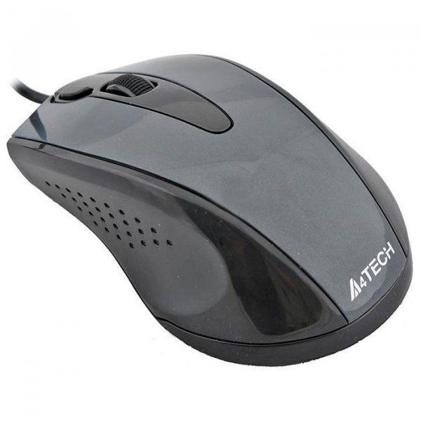 Купить Мыши, Мышь A4Tech N-500F-1 USB Black (4711421859370)
