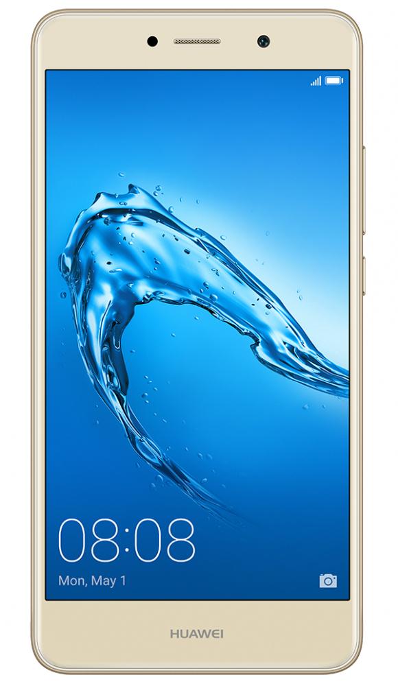 Смартфон Huawei Y7 2017 DualSim (51091RVG) Gold  - купить со скидкой